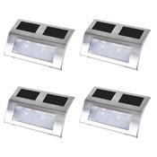 vidaXL Set solarnih svjetiljki, 4 kom