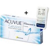 Acuvue Oasys (6komleća) + TopVue Premium (1 kom leća)