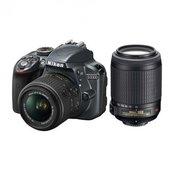 NIKON D-SLR fotoaparat D3300 kit + objektiv 18-55mm VRII + objektiv 55-200VRII