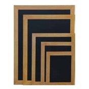SECURIT črna kredna tabla Woody, tik okvir, 60 x 80 cm