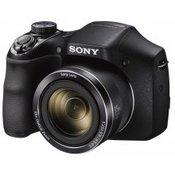 SONY digitalni fotoaparat DSC-H300B.CE3 crni