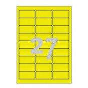 AVERY ZWECKFORM etikete za označevanje, vodoodporne 63,5 x 29,6 mm - L6105-20