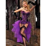 Korzet Gothic Maid, lila