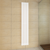 VIDAXL ploščati radiator 311x1800mm, bel