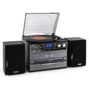 AUNA glazbena linija DVOSTRUKI KAZETOFON CD gramofon
