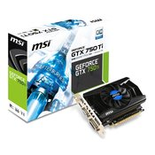 MSI grafička kartica 2GB GDDR5 N750TI-2GD5/OCV1