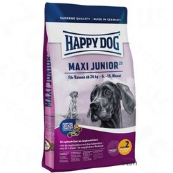 SUPREME HAPPY DOG MAXI JUNIOR GR 23 - pasja hrana - 4 KG