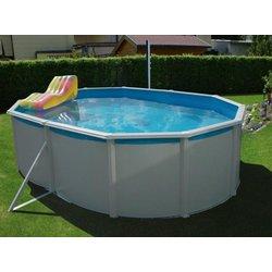 Intex monta ni bazen ovale 550x360x120 cm 11250 for Pool innenfolie 350x90
