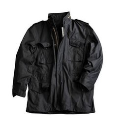 ALPHA jakna M65 CRNA