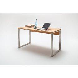 Pisalna miza massiv 140 kb 140x76x70cm bukev kern for Schreibtisch 250 cm