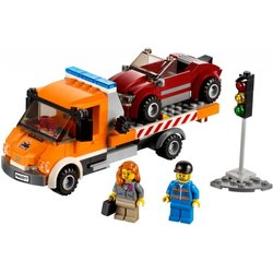 LEGO CITY Kamion s ravnom platformom 60017