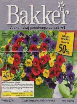 bakker katalog vedno nekaj posebnega za va vrt. Black Bedroom Furniture Sets. Home Design Ideas