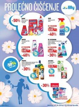 Lilly katalog - Prolećno čišćenje