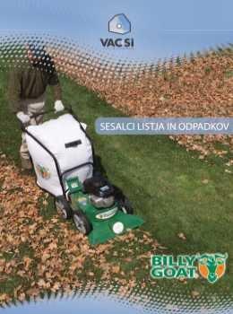 Billy Goat katalog - Sesalci listja