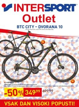 Intersport katalog - Outlet