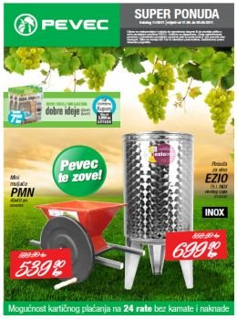 Pevec katalog - Super ponuda