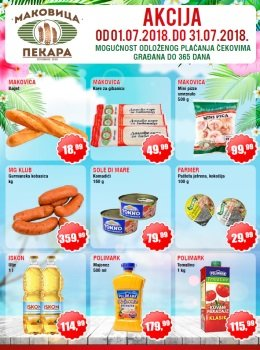 Makovica katalog - Akcija