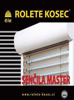 Rolete Kosec katalog