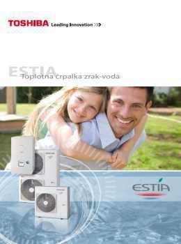 Estia katalog - Toplotne črpalke