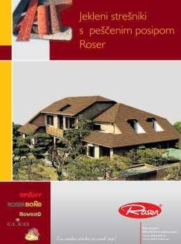 Roser katalog - jeklena kritina