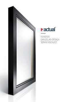 Actual katalog - okna, vrata in senčila