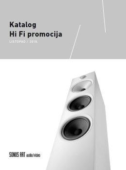 Sonus Art katalog - Listopad 2018.