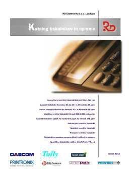 RD elektronika katalog