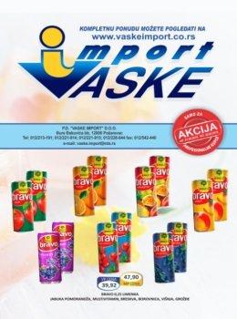 Vaske Import katalog