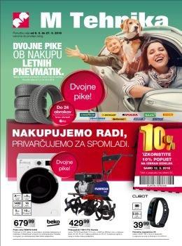 M Tehnika katalog - Privarčujmo za spomladi
