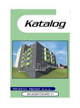 Projektil projekt katalog