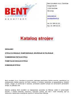 Bent Slovenija katalog