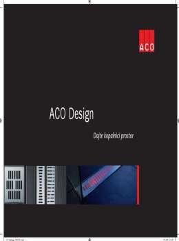 ACO Design katalog