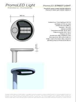 PromoLED katalog - ulična svetila