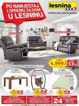 Lesnina katalog - Po namještaj i opremu za dom u Lesninu
