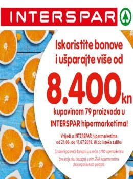 Interspar katalog - Knjižica bonova