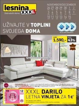 Lesnina katalog - Toplina vašega doma
