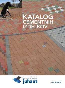 Cementni izdelki Juhant katalog
