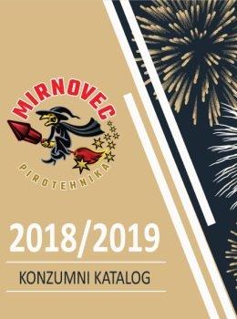 Mirnovec Pirotehnika katalog - 2018 /2019