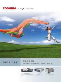 Toshiba katalog - klimatske naprave
