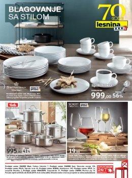 Lesnina katalog - Blagovanje sa stilom
