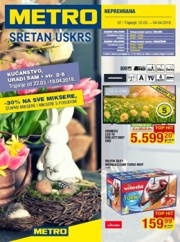 Metro katalog - Neprehrana - Osijek i Varaždin