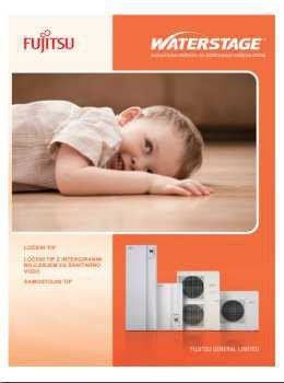 Fujitsu katalog - sistemi za ogrevanje