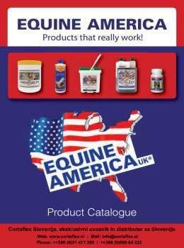 Equine America katalog - živalski prehranski dodatki