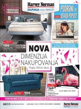 Harvey Norman katalog - Nova dimenzija nakupovanja