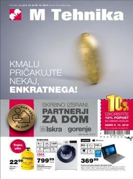 M Tehnika katalog - Enkratno pričakovanje