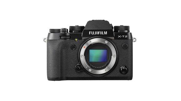 Fujifilm Sistemski fotoaparat Fujifilm X-T2 24.3 mio. pikslov, črne barve 4K-video, WiFi, vrtenje/obračanje zaslona