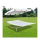 VIDAXL vanjski bračni krevet s nadstrešnicom i dva jastuka 200 x 173 x 135 cm