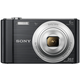 SONY digitalni fotoaparat DSC-W810B črn