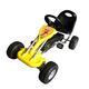 VIDAXL Go Kart na pedale, rumen